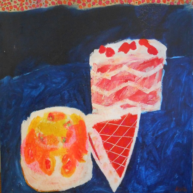 Still life with cakes, c. 1960s