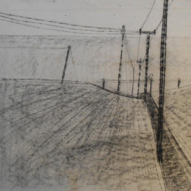Telegraph poles, east coast c. 1950s