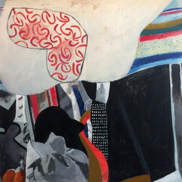 Studio with grey hats
