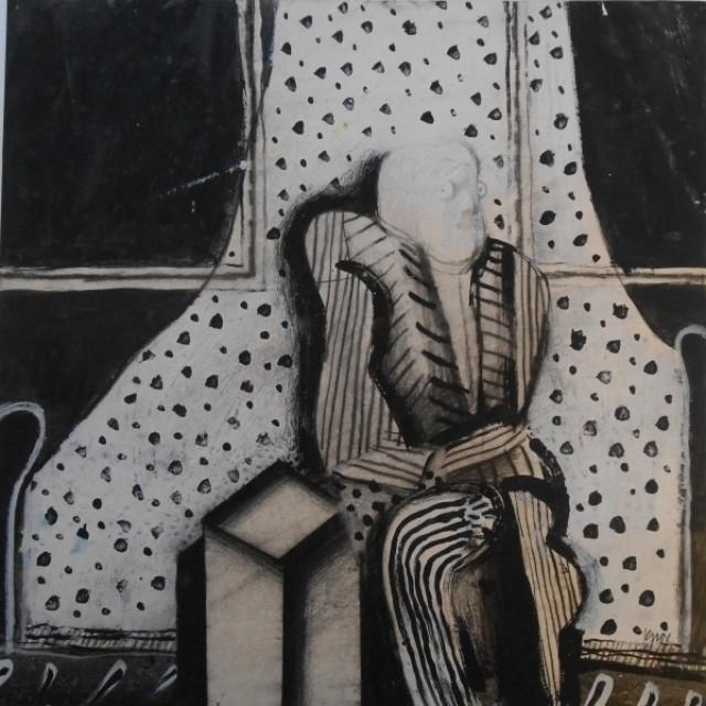 Seated Figure, c 1960s