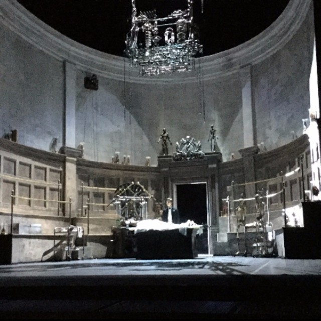 Set design for  The Anatomy Theatre, Frankenstein