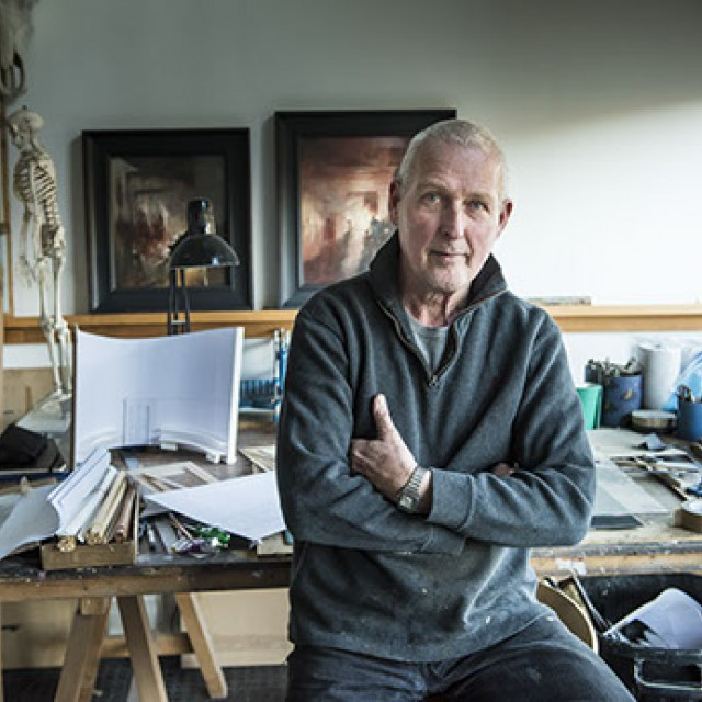 John Macfarlane : At the Edge of The Wings Set and Costume Drawings and Paintings