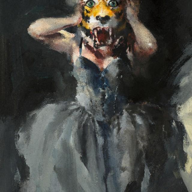 Tiger Headed Woman