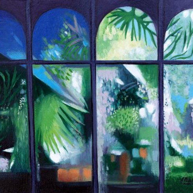 Palm House Window