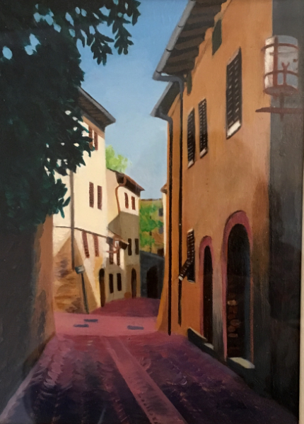 Via San Martino Sangimignano