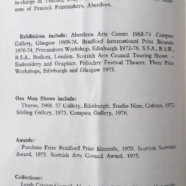 Malcolm McCoig Screenprints