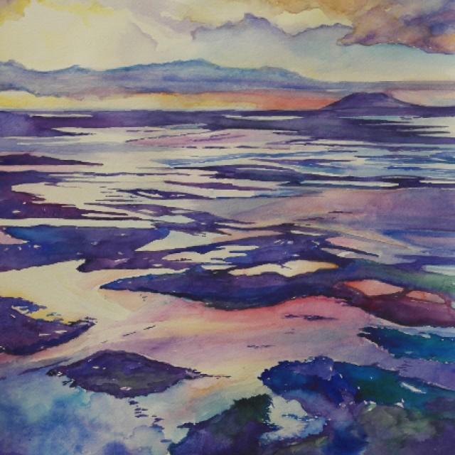 Dawn flight to the Western Isles