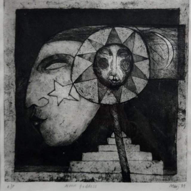 marj-bond-moon-goddess-etching-ap-25-x-25-cm1