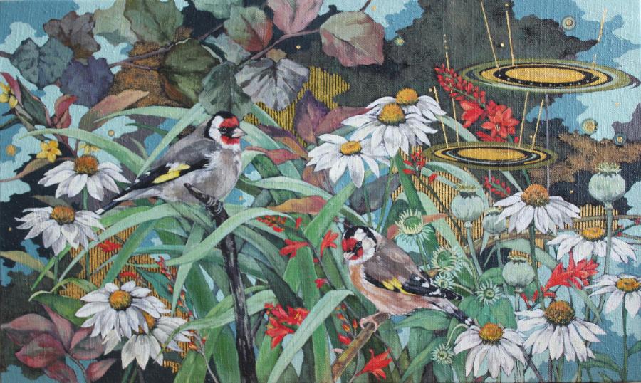 Summertime Garden, 2019 (sold)