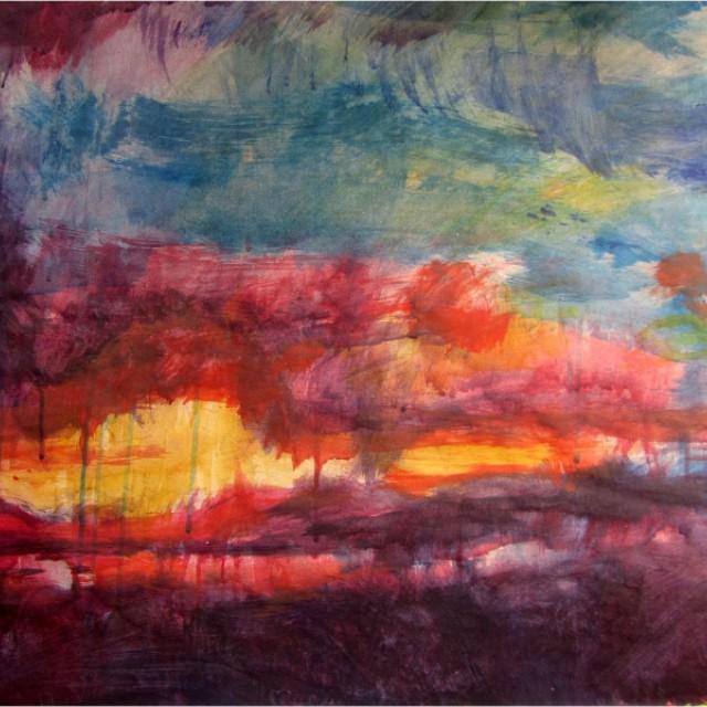 Myrthyr Farm Sunset Clouds