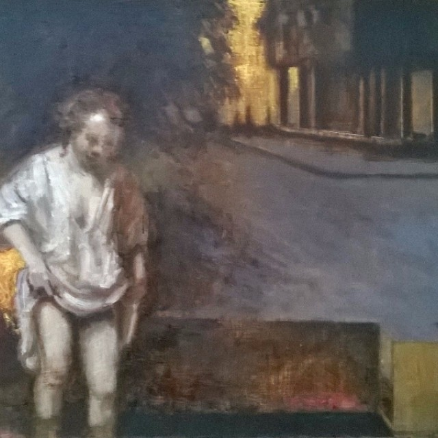 Hendricke Bathing After Degas
