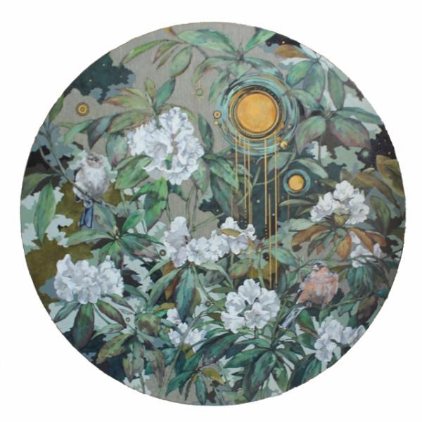 Twilight in Rhododendron Garden
