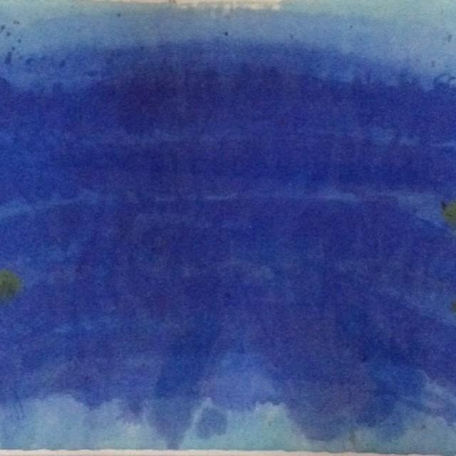 Wide Blue Basin