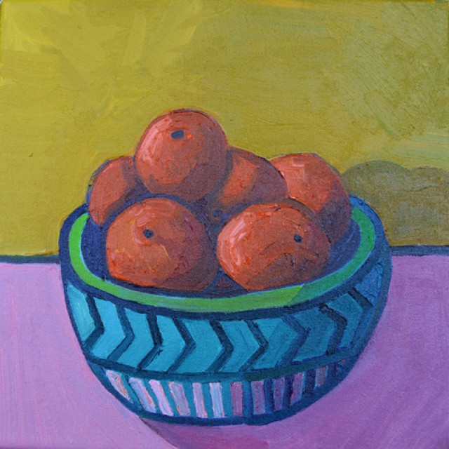 A Bowl of Six Oranges (possibly more) £300