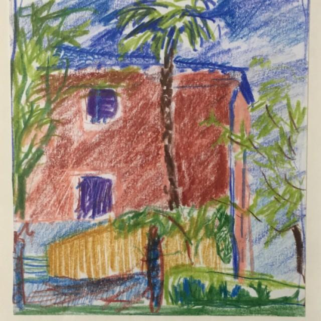 Pignanos Pink House Study 2