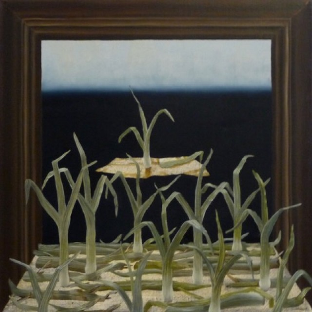Framed Leeks with Escape Route