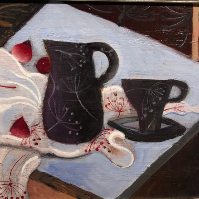 Black Jug & Cup