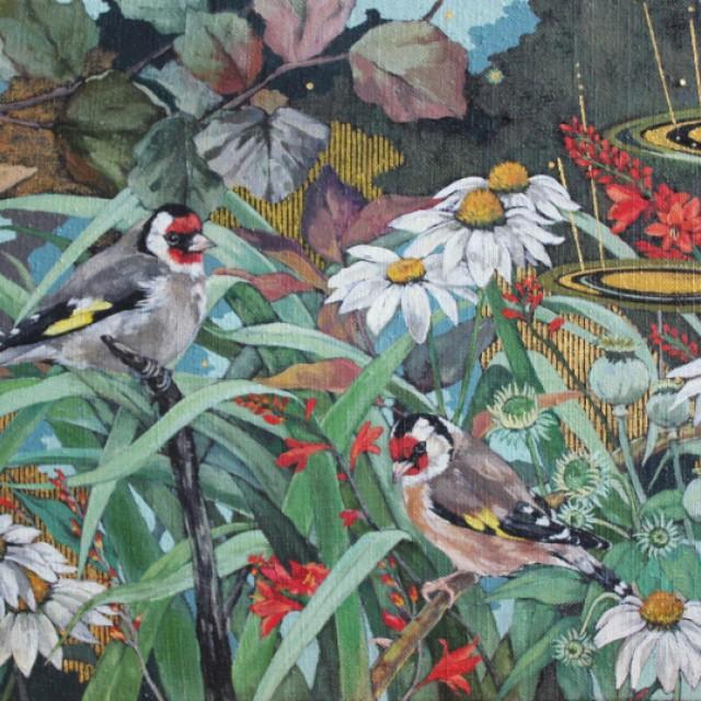 Summertime Garden (sold)