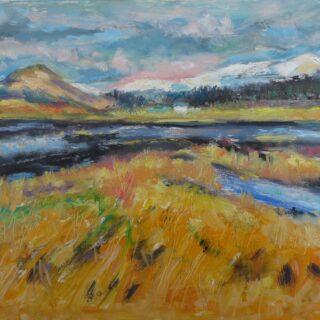 Scottish highland scene